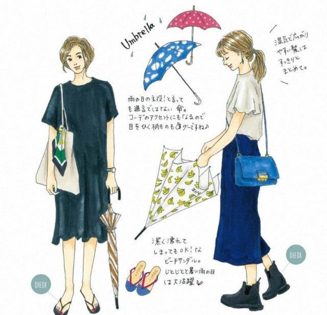 快來收藏,讓你穿10年的8套夏日「手繪穿搭」靈感,越時髦越簡單 形象穿搭 第9張