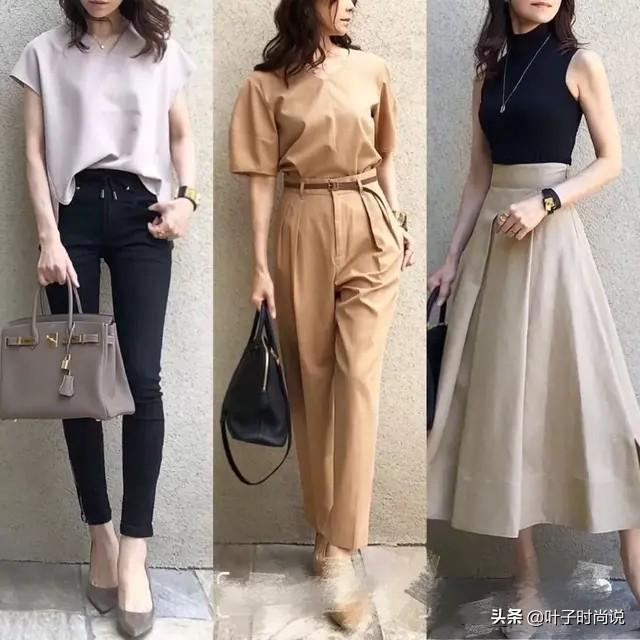 跟著日本時尚博主學穿搭,簡約通勤風,照著穿也很好看 形象穿搭 第6張