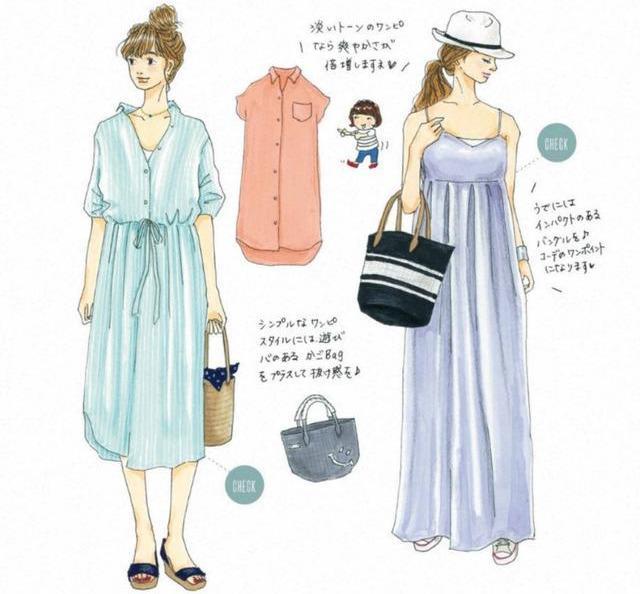 快來收藏,讓你穿10年的8套夏日「手繪穿搭」靈感,越時髦越簡單 形象穿搭 第13張