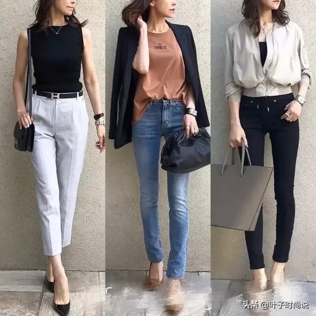 跟著日本時尚博主學穿搭,簡約通勤風,照著穿也很好看 形象穿搭 第3張