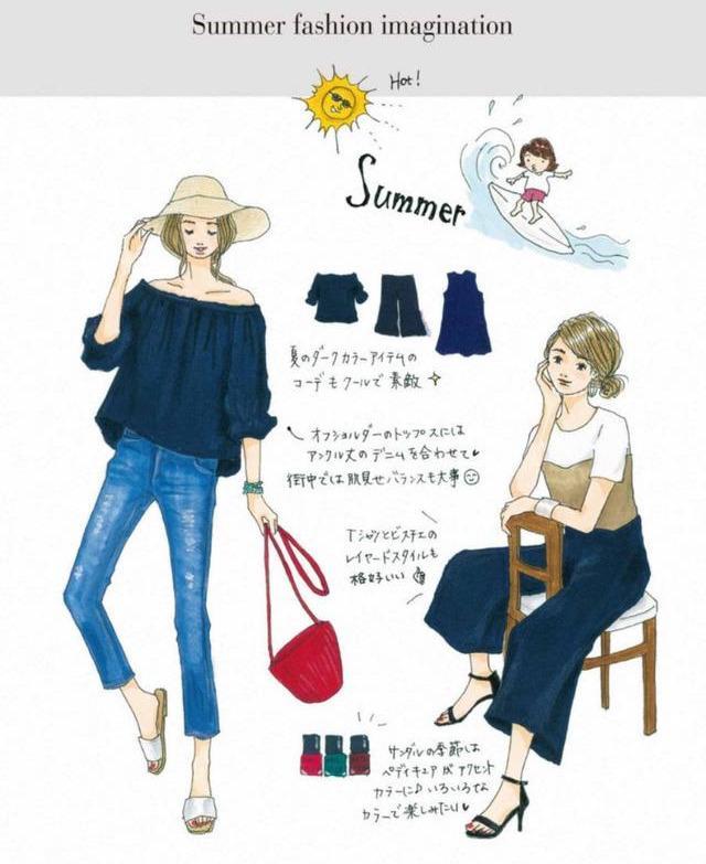 快來收藏,讓你穿10年的8套夏日「手繪穿搭」靈感,越時髦越簡單 形象穿搭 第6張