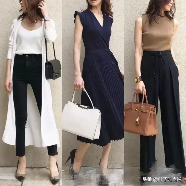 跟著日本時尚博主學穿搭,簡約通勤風,照著穿也很好看 形象穿搭 第4張