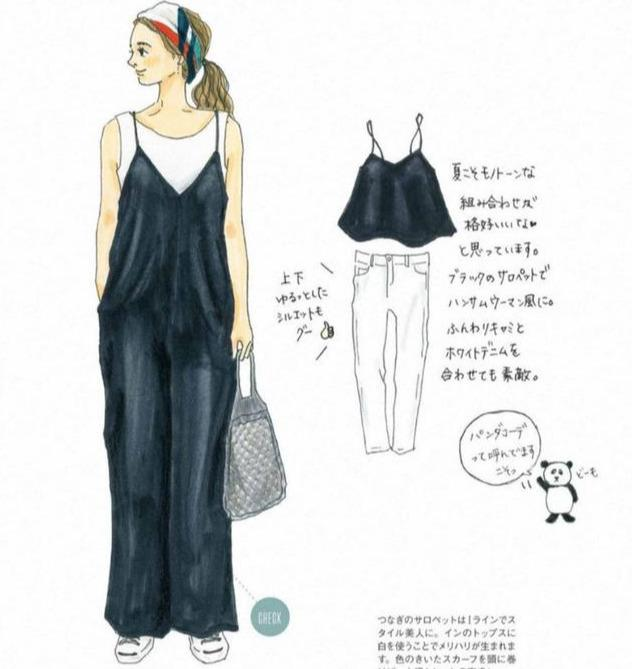 快來收藏,讓你穿10年的8套夏日「手繪穿搭」靈感,越時髦越簡單 形象穿搭 第10張