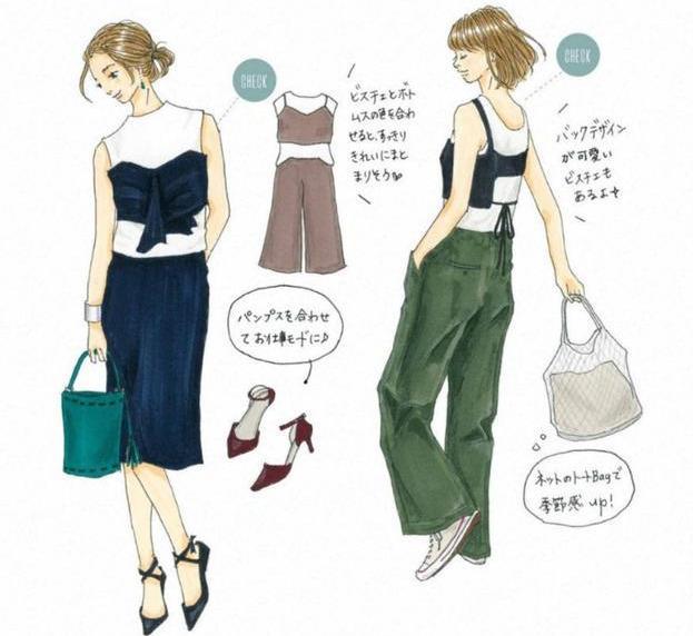 快來收藏,讓你穿10年的8套夏日「手繪穿搭」靈感,越時髦越簡單 形象穿搭 第12張