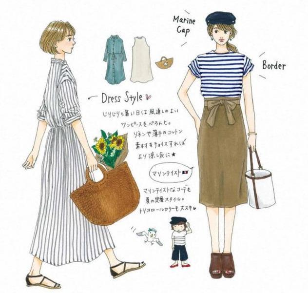 快來收藏,讓你穿10年的8套夏日「手繪穿搭」靈感,越時髦越簡單 形象穿搭 第7張
